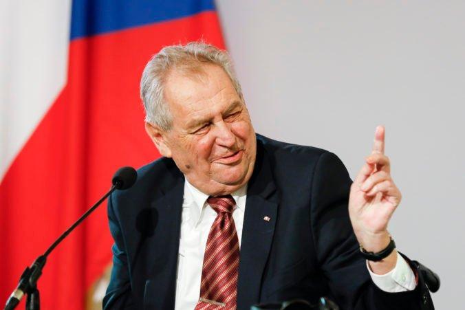 Český prezident Zeman sa vráti k pracovnému životu, z nemocnice ho prepustia už o pár dní