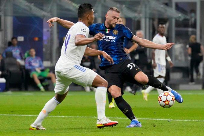 Taliani ospevujú výkon Škriniara, ale Inter Miláno pocítil v zápase proti Realu krutosť jedného momentu