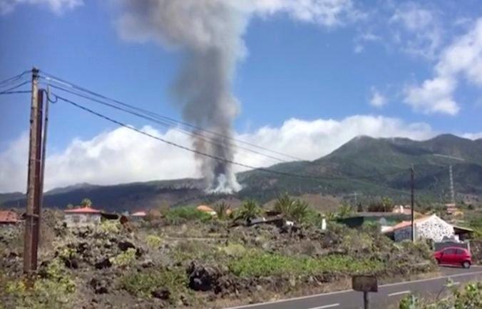 Na ostrove La Palma vybuchla sopka Cumbre Vieja, naposledy erupcie trvali týždne (video)