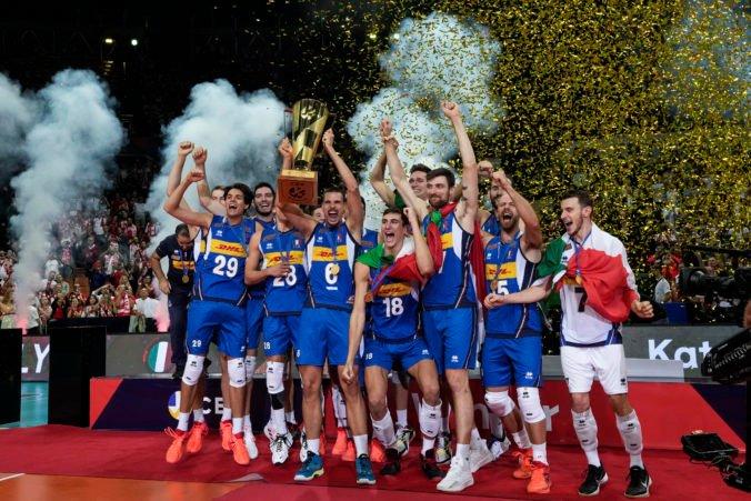 Volejbalisti Talianska v dráme zdolali Slovincov a získali siedmy titul majstrov Európy (video)