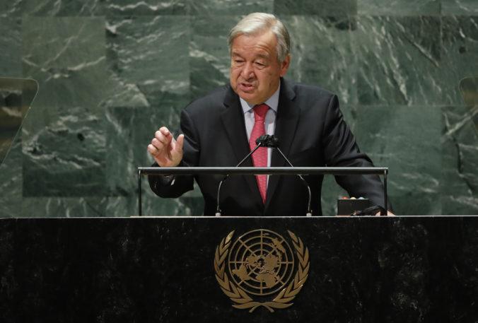 Svet podľa šéfa OSN smeruje zlým smerom, Guterres vyzval na premostenie šiestich veľkých rozdielov