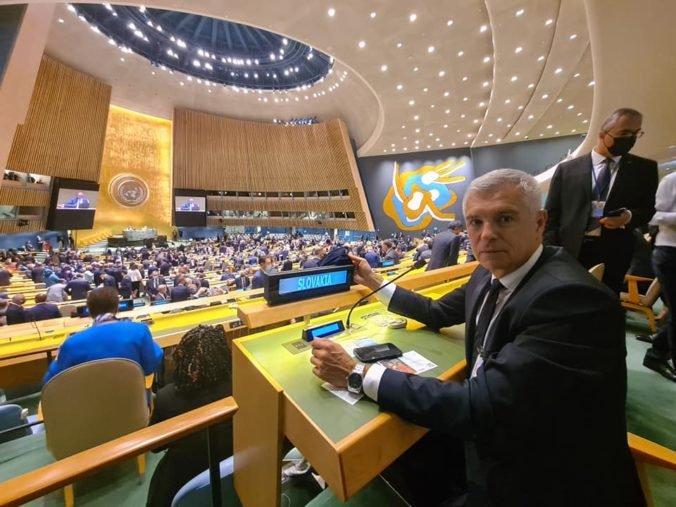 Korčok sa zúčastnil na Valnom zhromaždení OSN, v New Yorku stretol ministrov a šéfov diplomacií