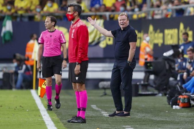 Barcelona už tretí zápas za sebou nebodovala naplno a tréner Koeman možno na lavičke skončí (video)