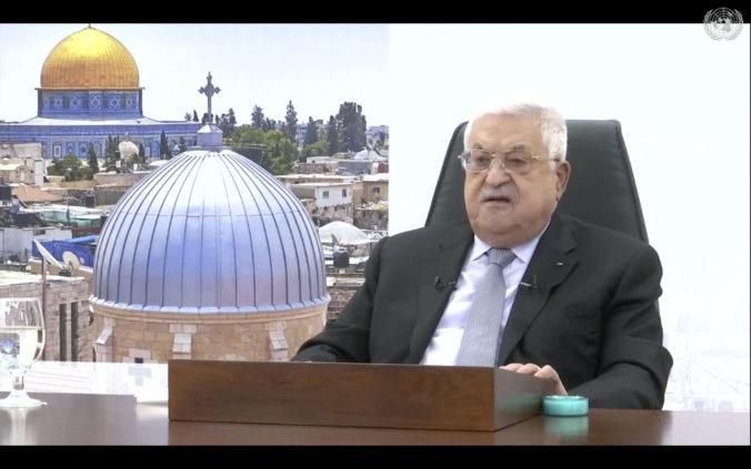 Palestínsky prezident Abbás dal ultimátum Izraelu, žiada ukončenie okupácie