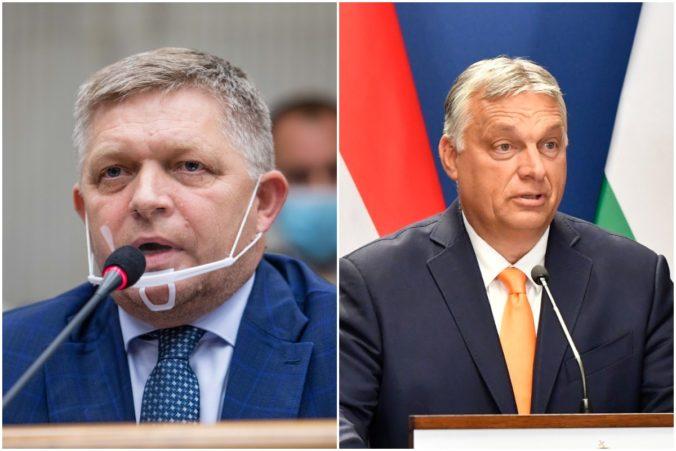 Fico označil Orbána za dravca, ktorý prahne po slovenských pozemkoch. Viní z toho slabú vládu Hegera (video)
