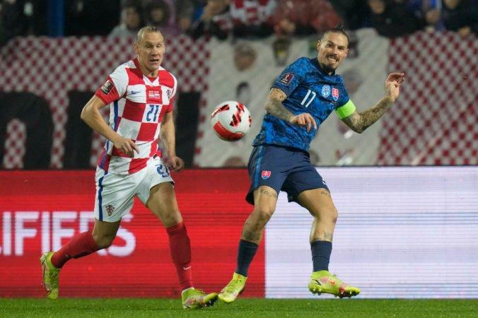 Hamšík zápas v Chorvátsku nedohral, má problém so zadným stehenným svalom a podstúpi vyšetrenie