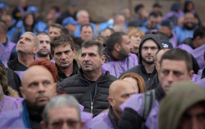 Bulharskí baníci žiadajú záruky udržania pracovných miest