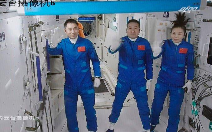Čínska vesmírna stanica Tchien-kung má nových obyvateľov, ostanú na nej rekordný čas