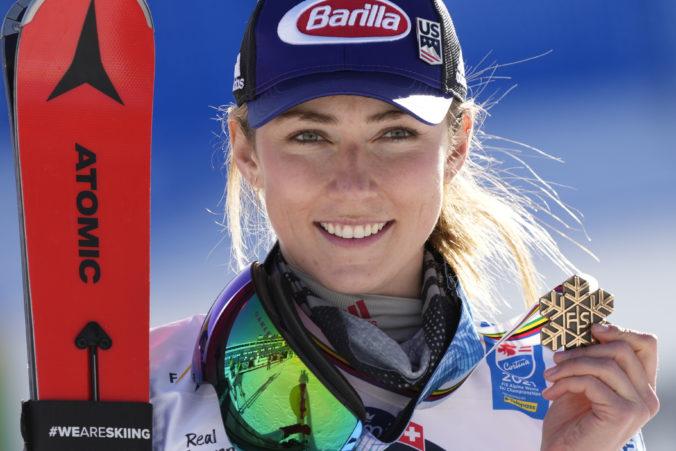 Mikaela Shiffrinová si chce splniť sen o tom, že na olympiáde v Pekingu odjazdí všetky disciplíny