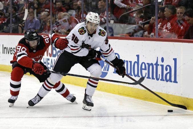 Tomáš Tatar prispel v NHL asistenciou k výhre New Jersey Devils nad Chicagom Blackhawks