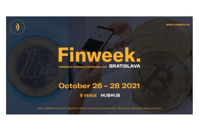 Bratislava bude hostiť Finweek. Trojdňový finančný festival začína 26. októbra v HubHub Twin city