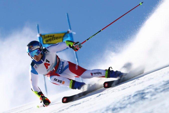 Adam Žampa získal v obrovskom slalome v Söldene tri body, víťazom sa stal Švajčiar Odermatt