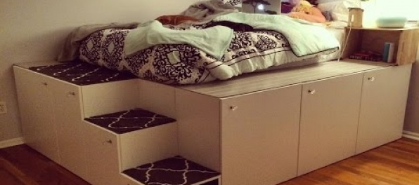 Návod ako vyriešiť úložný priestor v malej izbe.