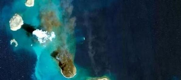 V Červenom mori vznikli dva nové ostrovy